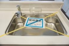 広々とした凸型シンクに洗剤ポケットを標準装備。洗い物もスムーズに行えます。