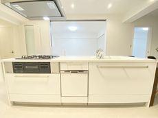 完成予想図、アイランドキッチン。 2021年8月リフォーム完了。