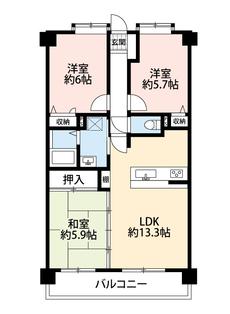 LDKと隣接する和室を合わせると19帖以上の大空間となります。内覧も出来ますのでお気軽にお問い合わせください^^