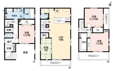2.3階合わせてバルコニーが3か所もあるので、用途に合わせて使い分けることが出来ます^^
