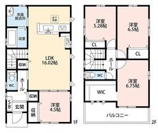 各居室収納スペース付き^^ご家族とのコミュニケーションが自然と増えるリビングイン階段を採用。