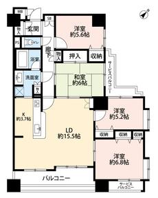 4LDK¥3980万円専有面積95.48㎡