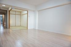 リビングと和室をつなげると大空間になります^^