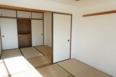 和室が2部屋続きになっています。来客時にも重宝しそうですね。