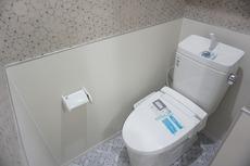 ウォシュレット、暖房便座など使い勝手のよい高機能トイレです。