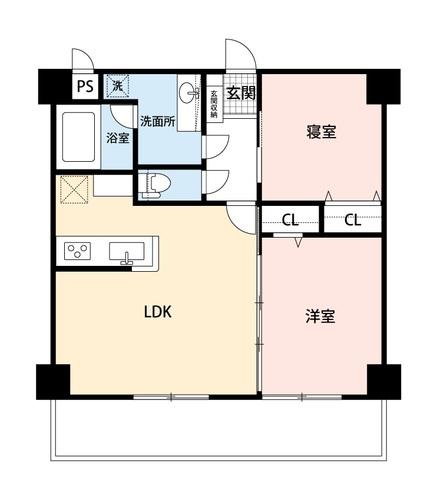 LDKと隣の居室を合わせると大空間となります。内覧も出来ますのでお気軽にお問い合わせください。