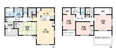 LDKと和室を合わせると22帖の大空間となります。内覧も出来ますのでお気軽にお問い合わせください^^