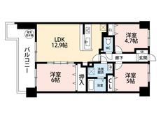 3LDKと各部屋収納付きでゆとりのある暮らしが実現。2021年5月水回り、床天井壁のリフォーム完了予定。