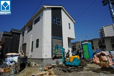 現地(2021年9月)撮影 6号棟 4.5.6.7号棟は東区、馬出小学校、福岡中学校となります。