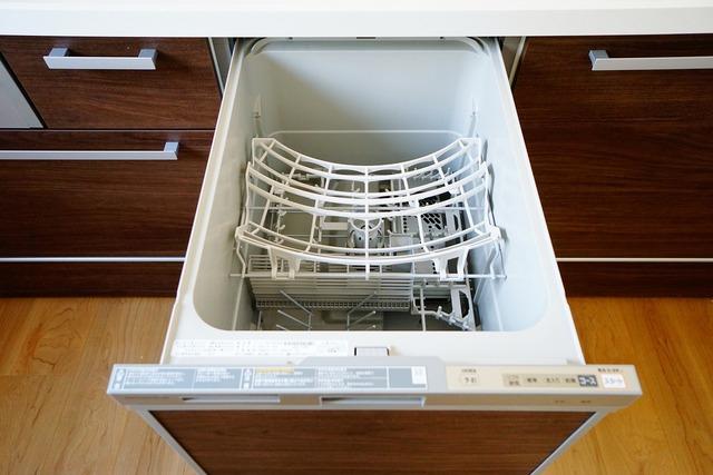 食器洗い乾燥機付なので、家事の短縮になり食後の自由な時間が増えますね^^