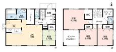 LDKと和室を合わせると19.75帖の大空間となります。キッチンには大型のパントリー、2階には納戸も付いており収納豊富な物件です。内覧も出来ますのでお気軽にお問い合わせください。