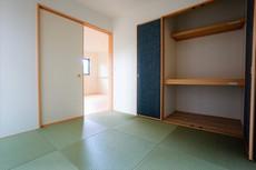 和室はくつろぎスペースや接待部屋など、様々な用途がありとても重宝します。